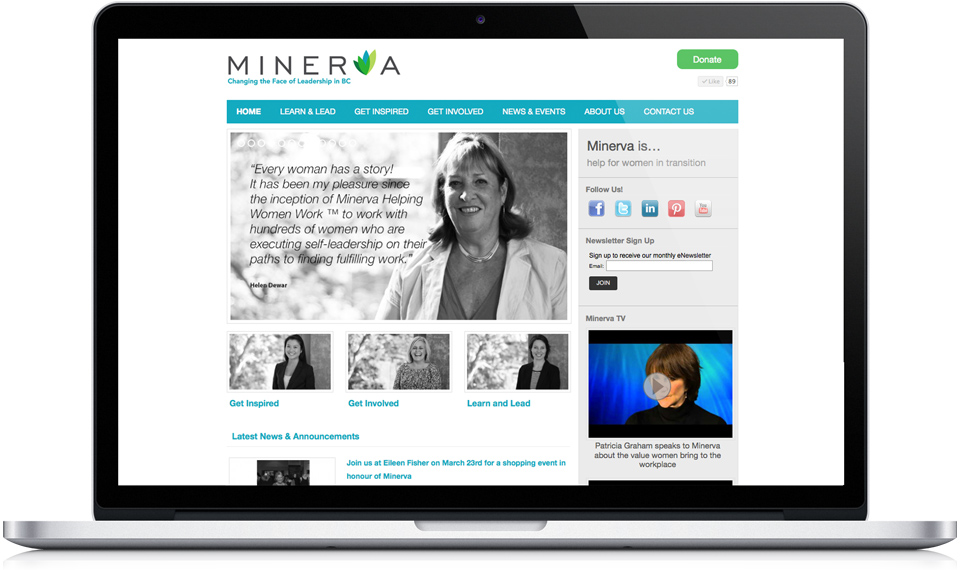 The Minerva Foundation home page